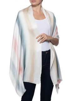 INC International Concepts Inc Tie-Dyed Stripes Pashmina Scarf, Created for Macy's