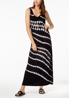 INC International Concepts Inc Tie-Dyed Studded Maxi Dress, Created for Macy's