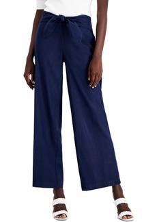 INC International Concepts Inc Tie-Front Pants, Created for Macy's