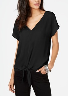INC International Concepts Inc Tie-Front Top, Created for Macy's