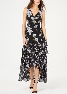 INC International Concepts I.n.c. Petite Tiered-Hem Maxi Dress, Created for Macy's
