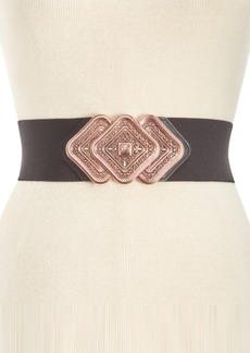 INC International Concepts I.n.c. Trio Interlock Stretch Belt, Created for Macy's