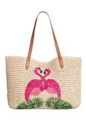 INC International Concepts I.n.c. Tropical Straw Tote, Created for Macy's