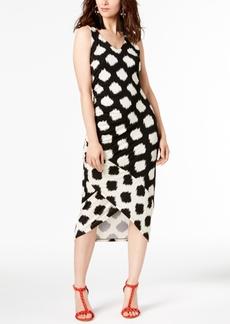 INC International Concepts I.n.c Tulip-Hem Midi Dress, Created for Macy's