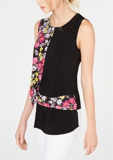 INC International Concepts I.n.c. Twisted Asymmetrical Top, Created for Macy's