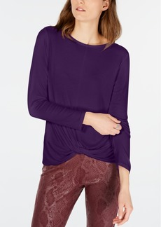INC International Concepts Inc Twisted Top, Created for Macy's