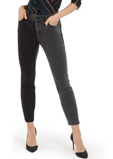 INC International Concepts Inc Two-Tone Skinny Jeans, Created For Macy's