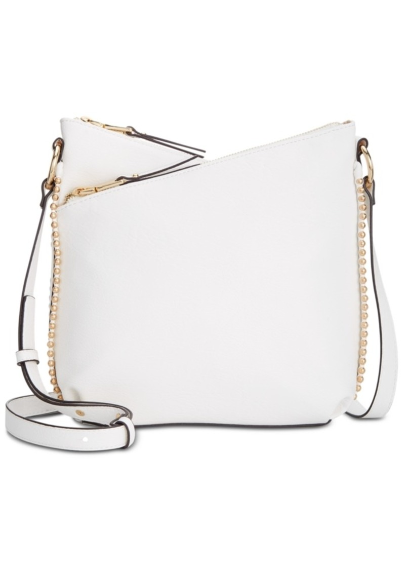 INC International Concepts Inc Valliee Double Zip Crossbody, Created for Macy's