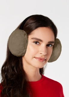 INC International Concepts I.n.c. Velvet & Faux-Fur Earmuffs, Created for Macy's