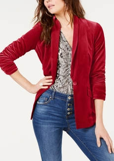 INC International Concepts I.n.c. Velvet Blazer, Created for Macy's