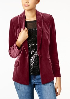 INC International Concepts Inc Velvet Blazer, Created for Macy's