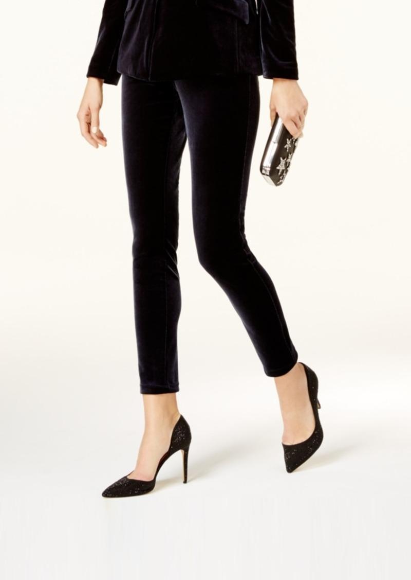 c5217c3138cb8 INC International Concepts I.n.c. Curvy Velvet Skinny Pants