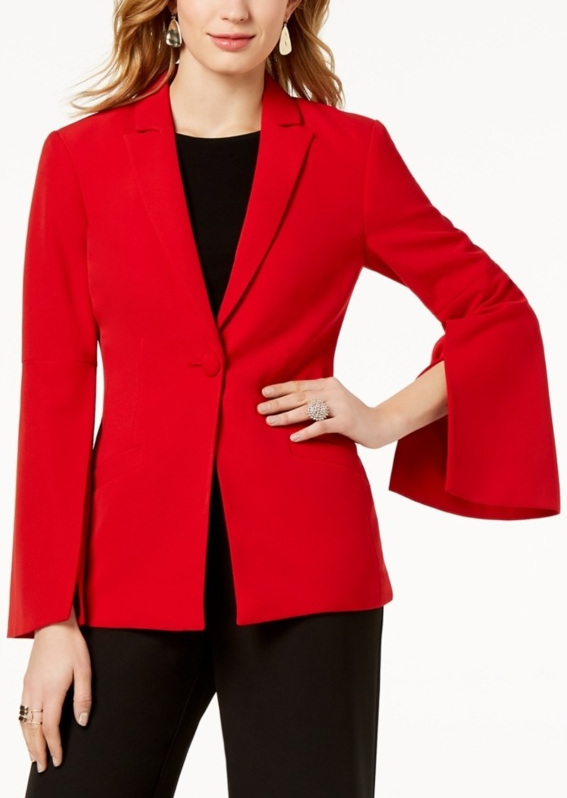 INC International Concepts I.n.c. Vented Bell-Sleeve Blazer, Created for Macy's