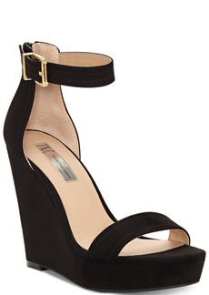 INC International Concepts I.n.c. Vidita Platform Wedge Sandals, Created for Macy's Women's Shoes