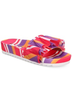 INC International Concepts I.n.c. Women's Abena Pool Slides, Created for Macy's Women's Shoes