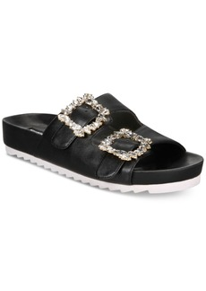 INC International Concepts I.n.c. Women's Alani Footbed Flat Sandals, Created for Macy's Women's Shoes