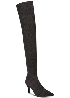 INC International Concepts I.n.c. Women's Briella Sock Over-The-Knee Boots, Created for Macy's Women's Shoes