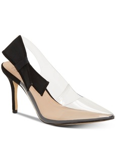 INC International Concepts Inc Women's Coletta Slingback Pointed Toe Pumps, Created for Macy's Women's Shoes