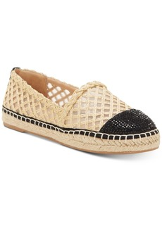 3c92c531562 INC International Concepts I.n.c. Women s Corvina Capped-Toe Woven  Espadrille Flats