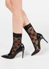 INC International Concepts Inc Women's Fishnet Star Fashion Socks, Created for Macy's