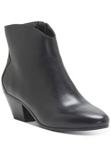 INC International Concepts Inc Women's Idra Block-Heel Booties, Created for Macy's Women's Shoes