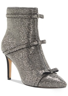 INC International Concepts Inc Women's Isauria Bow Bling Booties, Created for Macy's Women's Shoes