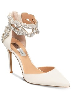INC International Concepts I.n.c. Women's Kallista Ankle-Strap Pumps, Created for Macy's Women's Shoes