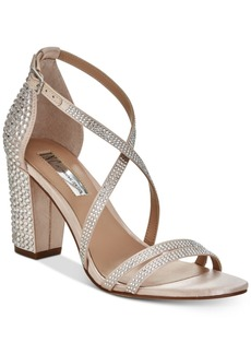 I.n.c. Women's Kamma Strappy Dress Sandals, Created for Macy's Women's Shoes
