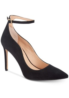 INC International Concepts I.n.c. Women's Kasen Ankle-Strap Pumps, Created For Macy's Women's Shoes