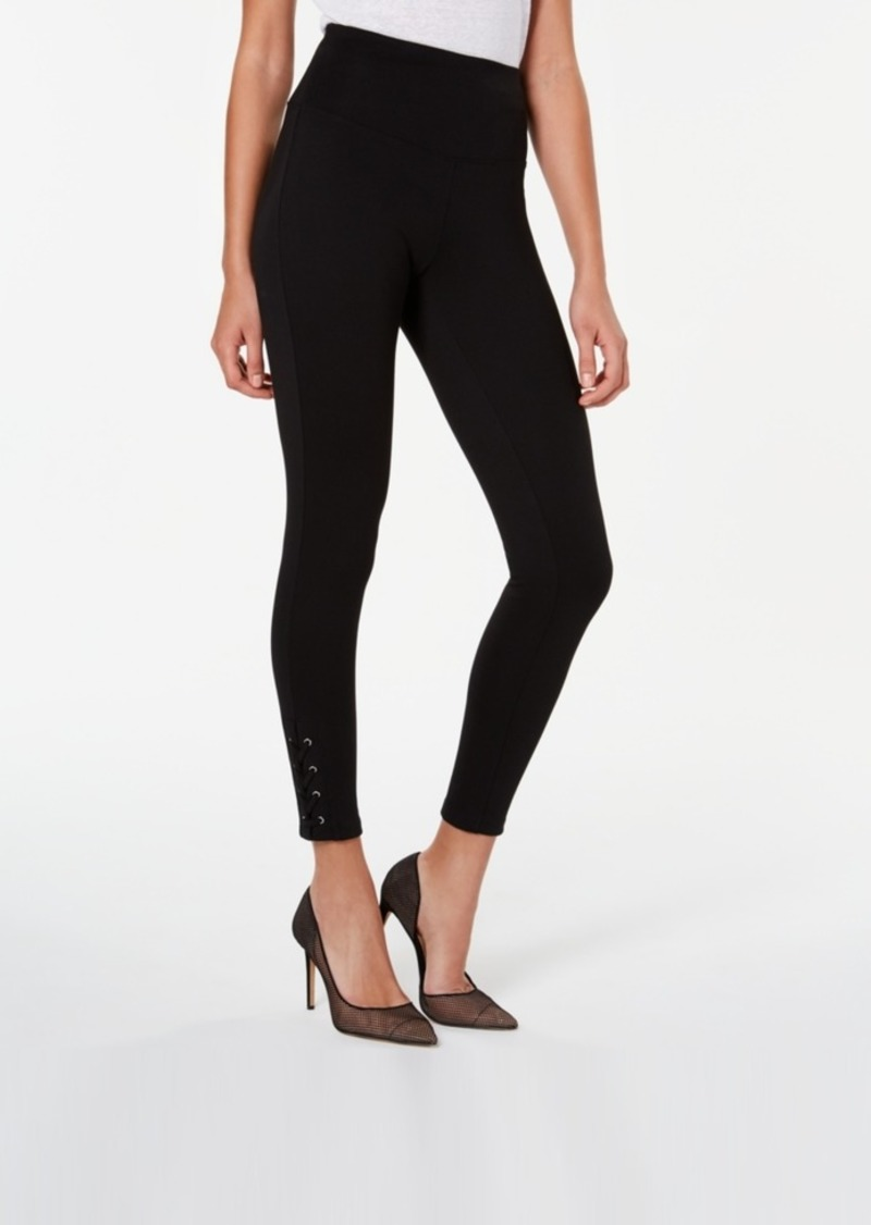 INC International Concepts Inc Women's Laced-Ankle Leggings, Created For Macy's