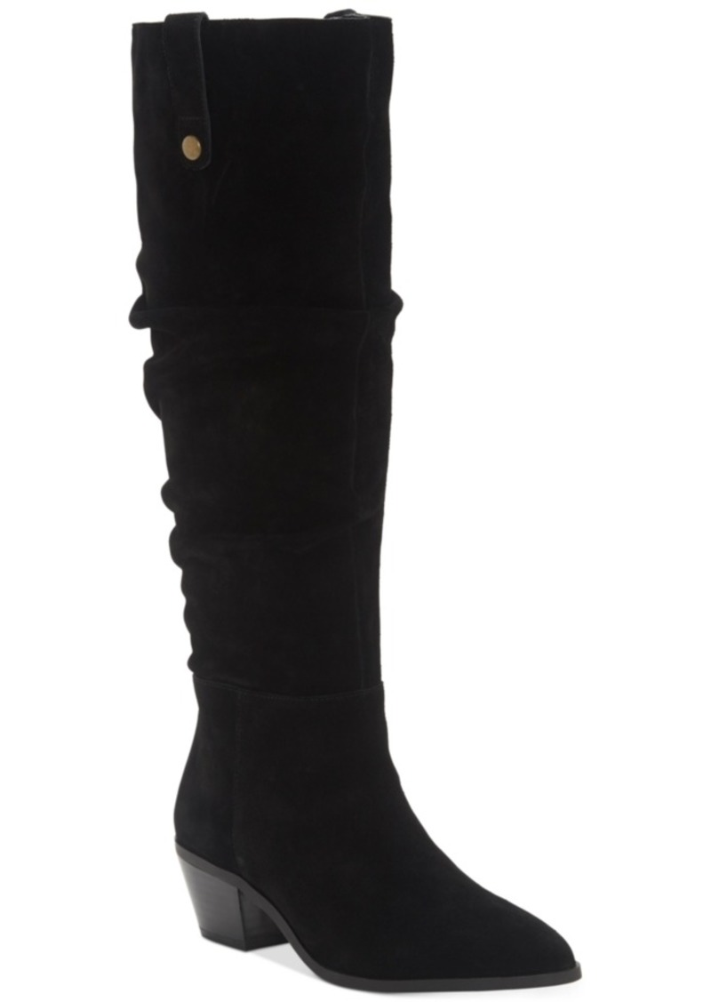 INC International Concepts Inc Women's Launa Pointed-Toe Slouch Boots, Created for Macy's Women's Shoes