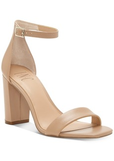 INC International Concepts Inc Women's Lexini Two-Piece Sandals, Created for Macy's Women's Shoes