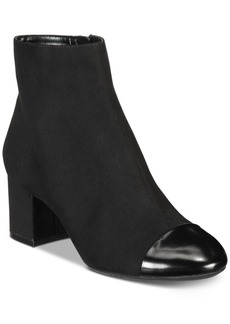 INC International Concepts I.n.c. Women's Niva Ankle Booties, Created for Macy's Women's Shoes