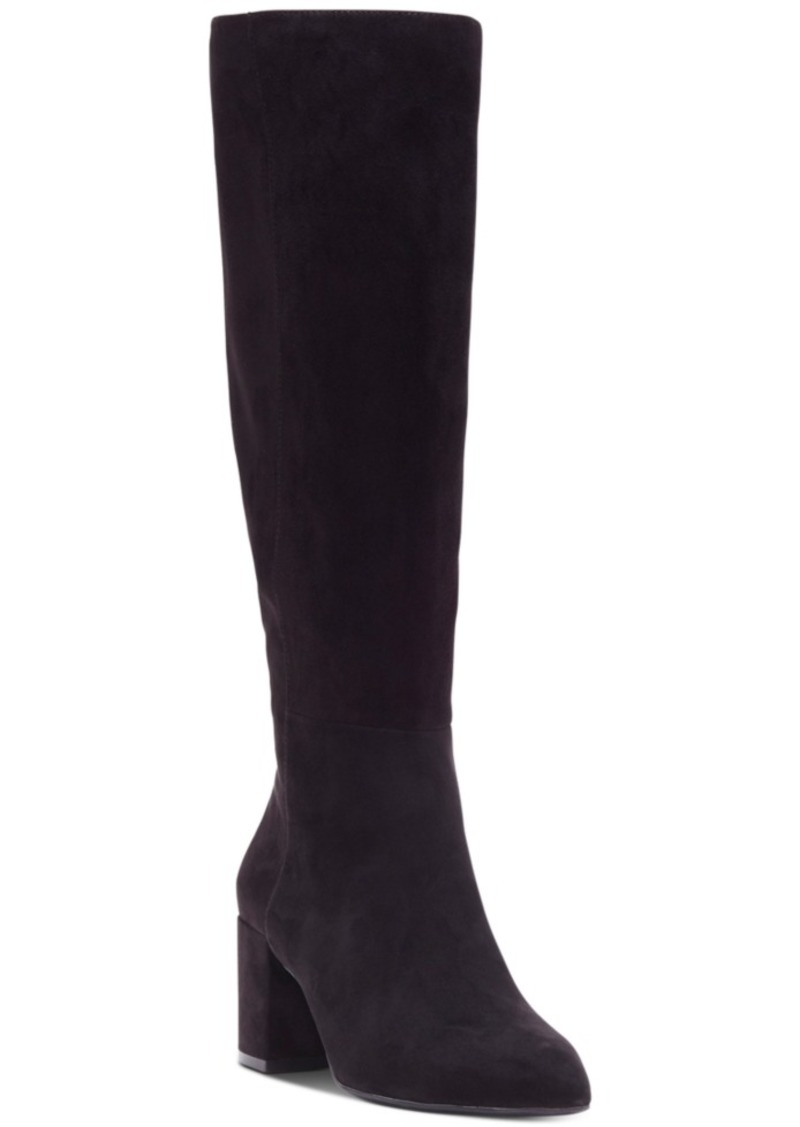 INC International Concepts Inc Women's Ozara Block-Heel Dress Boots, Created For Macy's Women's Shoes