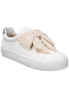INC International Concepts I.n.c. Women's Sanice Bow Sneakers, Created for Macy's Women's Shoes