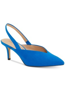 INC International Concepts Inc Women's Velda Slingback Choked-Up Pumps, Created for Macy's Women's Shoes