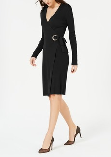 INC International Concepts Inc Wrap Sweater Dress, Created for Macy's