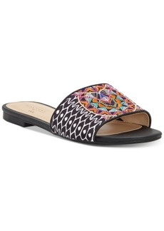 INC International Concepts Trina Turk x I.n.c. Maira Slide Sandals, Created for Macy's Women's Shoes