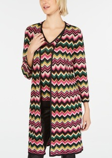INC International Concepts Inc Zig-Zag Completer Sweater, Created for Macy's