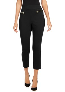 INC International Concepts Inc Zippered Skinny Pants, Created for Macy's