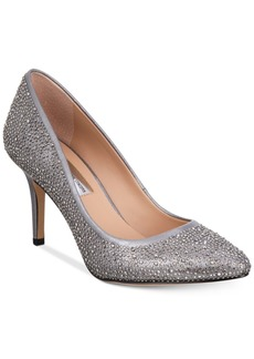 I.n.c. Women's Zitah Rhinestone Pointed Toe Pumps, Created for Macy's Women's Shoes