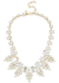 M. Haskell for Inc International Concepts Crystal Oval Clusters Statement Necklace, Only at Macy's