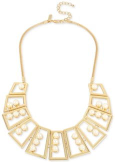 M. Haskell for Inc International Concepts Geometric Statement Necklace, Created for Macy's
