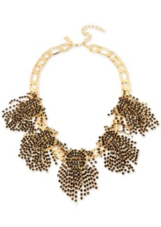 M. Haskell for Inc International Concepts Rhinestone Statement Necklace, Created for Macy's