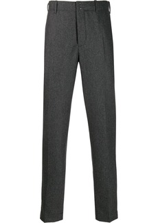 Incotex broadcloth suit trousers