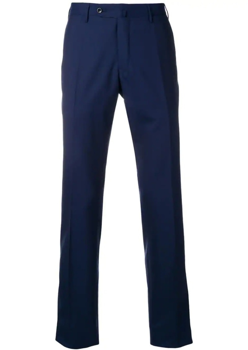 Incotex classic navy trousers