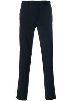 Incotex creased straight leg trousers