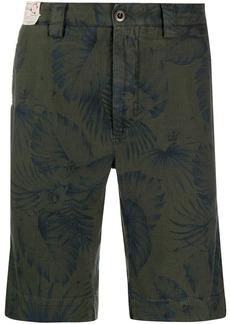 Incotex floral straight-leg shorts