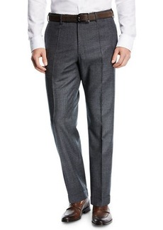 Incotex Benson Micro-Fancy Flannel Pants