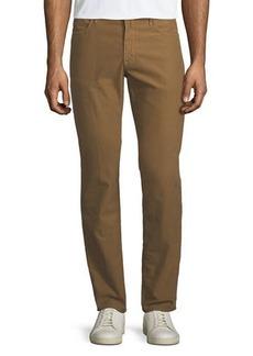 Incotex Brushed Twill Five-Pocket Pants